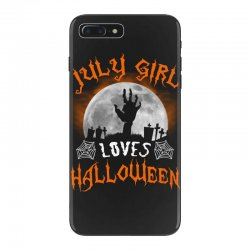 this july girl loves halloween iPhone 7 Plus Case | Artistshot
