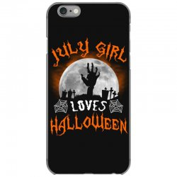 this july girl loves halloween iPhone 6/6s Case | Artistshot