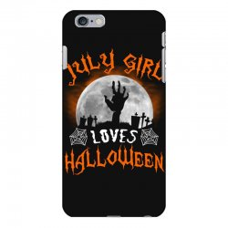 this july girl loves halloween iPhone 6 Plus/6s Plus Case | Artistshot