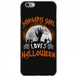 this january girl loves halloween iPhone 6/6s Case | Artistshot