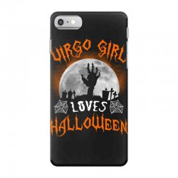 this virgo girl loves halloween iPhone 7 Case | Artistshot