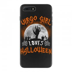 this virgo girl loves halloween iPhone 7 Plus Case | Artistshot