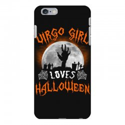 this virgo girl loves halloween iPhone 6 Plus/6s Plus Case | Artistshot