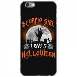 this scorpio girl loves halloween iPhone 6/6s Case | Artistshot