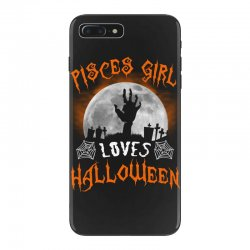 this pisces girl loves halloween iPhone 7 Plus Case | Artistshot