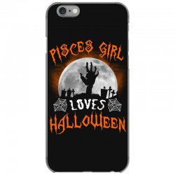 this pisces girl loves halloween iPhone 6/6s Case | Artistshot