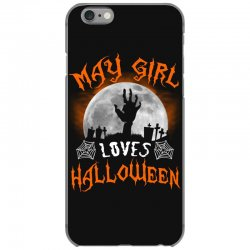 this may girl loves halloween iPhone 6/6s Case | Artistshot