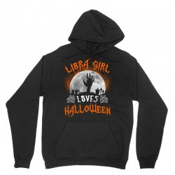 this libra girl loves halloween Unisex Hoodie | Artistshot