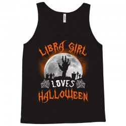 this libra girl loves halloween Tank Top | Artistshot