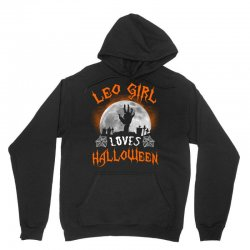 this leo girl loves halloween Unisex Hoodie | Artistshot
