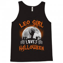 this leo girl loves halloween Tank Top | Artistshot