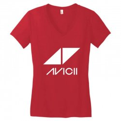 avicii dj music Women's V-Neck T-Shirt | Artistshot