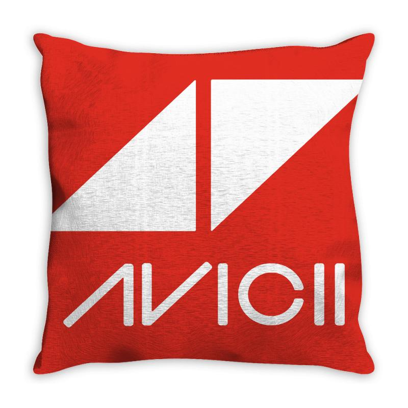 Avicii Dj Music Throw Pillow | Artistshot