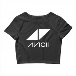 avicii dj music Crop Top | Artistshot
