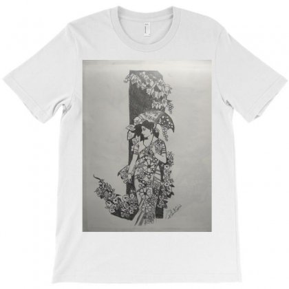 Undefined Beauty Of A  Women T-shirt Designed By Bosker Creations
