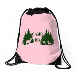 camp bb Drawstring Bags | Artistshot