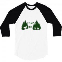 camp bb 3/4 Sleeve Shirt | Artistshot