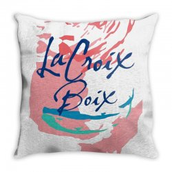 la croix boix Throw Pillow | Artistshot
