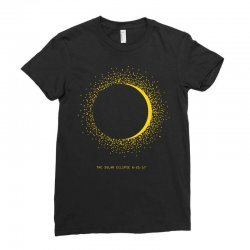 come the sun solar eclipse Ladies Fitted T-Shirt | Artistshot