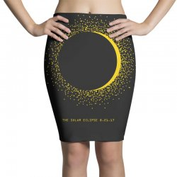 come the sun solar eclipse Pencil Skirts | Artistshot