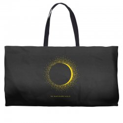 come the sun solar eclipse Weekender Totes | Artistshot