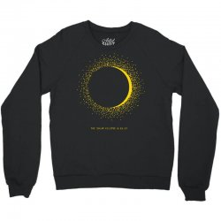 come the sun solar eclipse Crewneck Sweatshirt | Artistshot