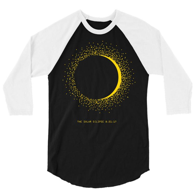 Come The Sun Solar Eclipse 3/4 Sleeve Shirt | Artistshot