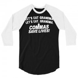 commas save lives 3/4 Sleeve Shirt | Artistshot