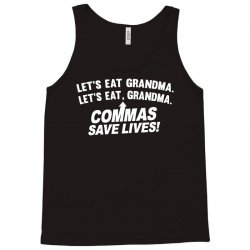 commas save lives Tank Top | Artistshot