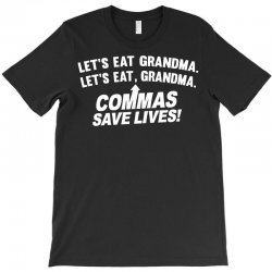 commas save lives T-Shirt | Artistshot