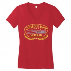 console war veteran Women's V-Neck T-Shirt | Artistshot