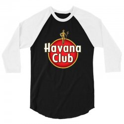 havana club label 3/4 Sleeve Shirt | Artistshot