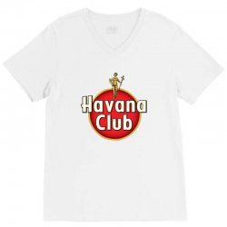 havana club label V-Neck Tee | Artistshot