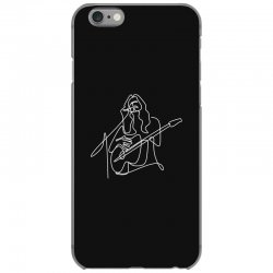 rock musician one line illustration iPhone 6/6s Case | Artistshot