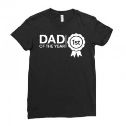dad of the year Ladies Fitted T-Shirt | Artistshot