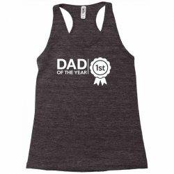 dad of the year Racerback Tank | Artistshot