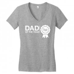 dad of the year Women's V-Neck T-Shirt | Artistshot