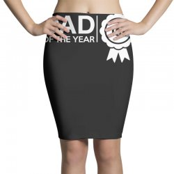dad of the year Pencil Skirts | Artistshot