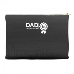 dad of the year Accessory Pouches | Artistshot
