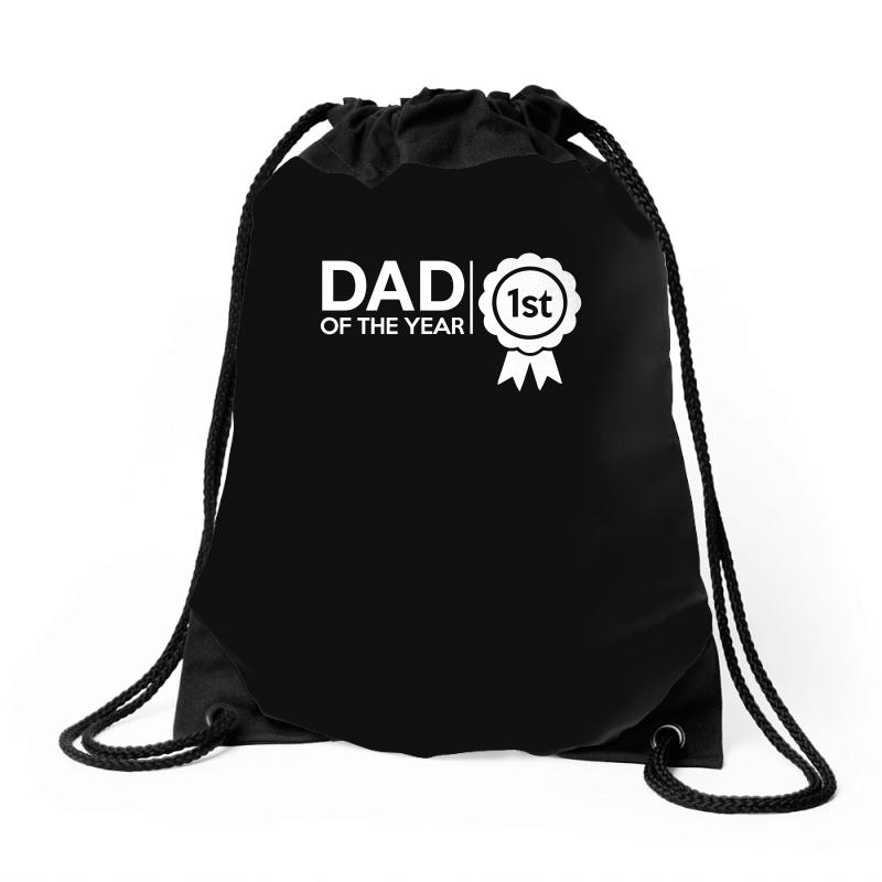 Dad Of The Year Drawstring Bags | Artistshot