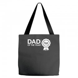 dad of the year Tote Bags | Artistshot
