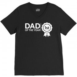 dad of the year V-Neck Tee | Artistshot