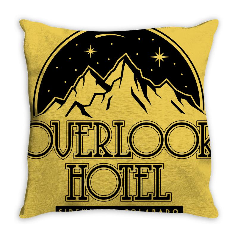 The Overlook Hotel Merch Throw Pillow | Artistshot