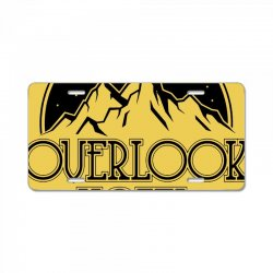 the overlook hotel merch License Plate | Artistshot