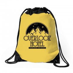 the overlook hotel merch Drawstring Bags | Artistshot