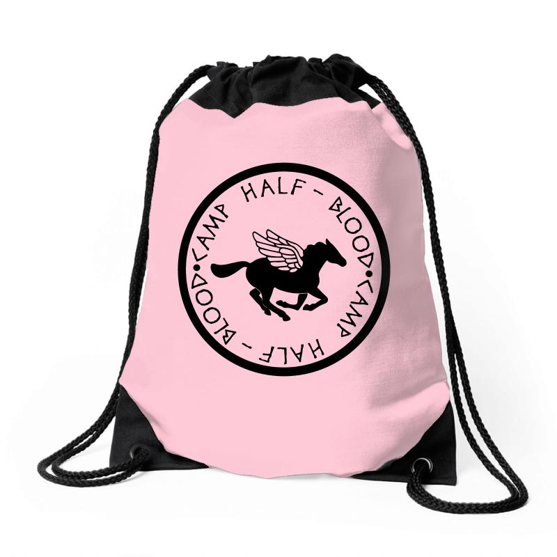 Camp Half Blood Drawstring Bags | Artistshot