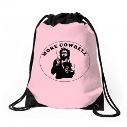 more cowbell Drawstring Bags | Artistshot