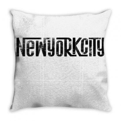 New York City Throw Pillow Designed By Tiococacola