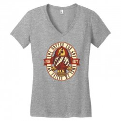 The hotter you got the faster we come Women's V-Neck T-Shirt | Artistshot