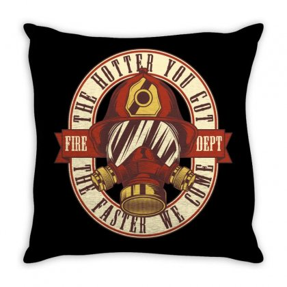 The Hotter You Got The Faster We Come Throw Pillow Designed By Emardesign